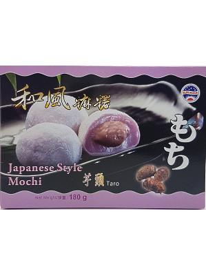 Japanese Style Mochi – Taro 180g (box) – SUN WAVE