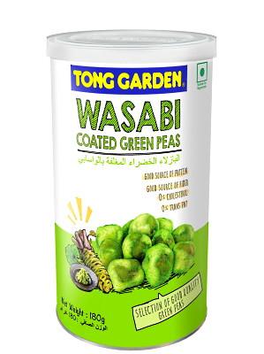 Wasabi Coated Green Peas – TONG GARDEN