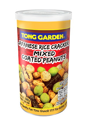 Japanese Rice Cracker Mixed Coated Peanuts – TONG GARDEN