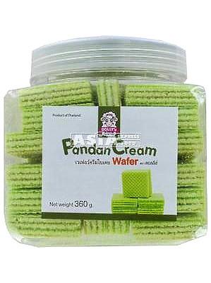 Pandan Cream Wafers – DOLLY'S