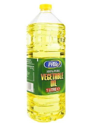 100% Pure Vegetable (Soya) Oil 1ltr - PRIDE