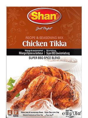 CHICKEN TIKKA Recipe & Seasoning Mix - SHAN