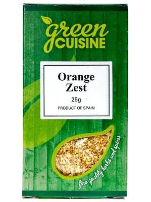 Orange Zest 25g - GREEN CUISINE