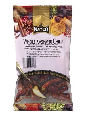 Whole Kashmiri Chillies 80g - NATCO