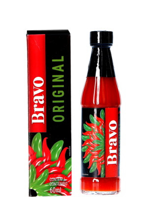 BRAVO Brazilian Chilli Pepper Sauce - Original - SAKURA