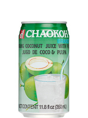Coconut Juice with Pulp 350ml - CHAOKOH