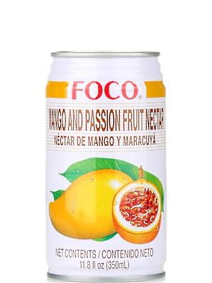 Mango & Passion Fruit Juice Drink - FOCO