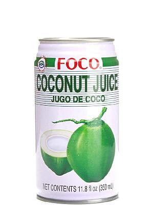 Coconut Juice with Pulp 350ml - FOCO