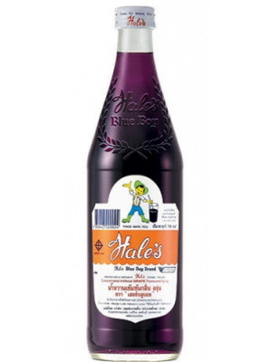 Concentrated Flavoured Syrup - Grape Flavour - HALES