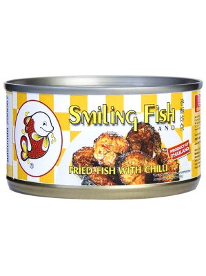 Fried Fish with Chilli - SMILING FISH