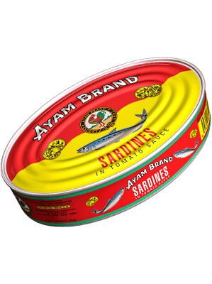 Sardines in Tomato Sauce 400g - AYAM