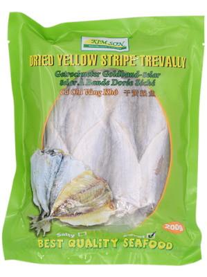 Dried Yellow Stripe Trevally (sweet) 200g - KIM SON