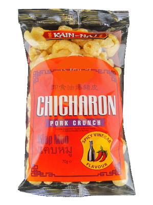 Chicharon (Fried Pork Rind) – Spicy Vinegar Flavour - KAIN-NA