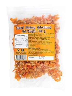 Dried Shrimp (medium) 100g - ASIAN SEAS