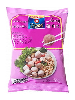 Pork Meatballs (Luk Chin Moo) 500g - ORIENTAL KITCHEN