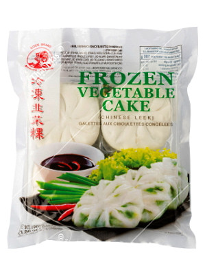 Frozen (Chinese Leek) Vegetable Cake - COCK