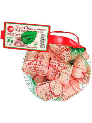 Fermented Pork with Star Gooseberry Leaf - ORIENTAL KITCHEN