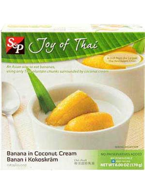 Banana in Coconut Cream - S&P