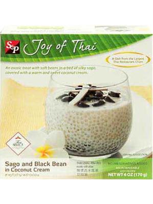 Sago & Black Bean in Coconut Cream - S&P