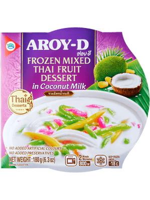Thai Fruit Dessert in Coconut Milk - AROY-D