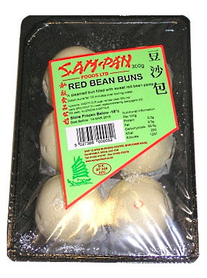 Red Bean Buns - SAM PAN