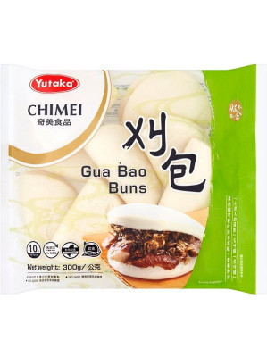 Chinese Sandwich Buns (Gwa Bao) 18x10pcs - YUTAKA