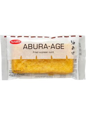 Fried Soybean Curd Pockets (Abura-Age) 2pcs - YUTAKA