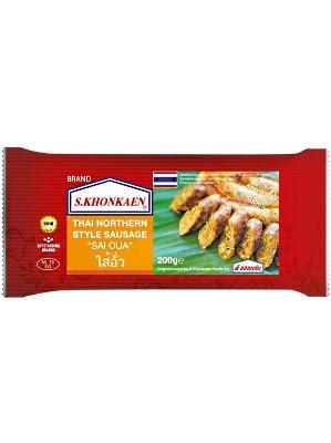 Thai Northern-style Sausage (Sai Oua) - S.KHONKAEN