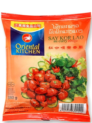 Laotian Sausage with Red Curry – ORIENTAL KITCHEN