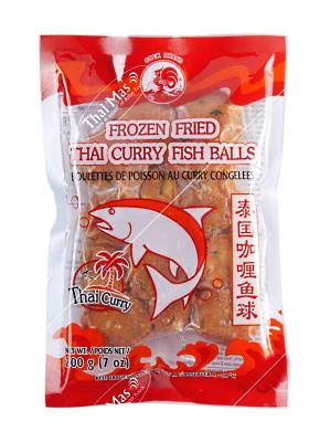 Fried Thai Curry Fish Balls – COCK