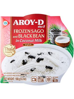 Sago & Black Bean in Coconut Milk – AROY-D