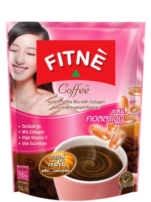 3-in-1 Instant Coffee Mix ( With Collagen) - FITNE