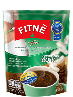 3-in-1 Instant Coffee Mix (With White Kidney Bean Extract) - FITNE