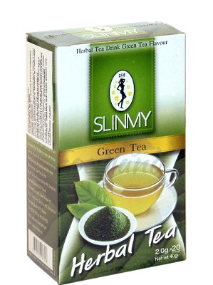Herbal Tea Drink - Green Tea - SLINMY