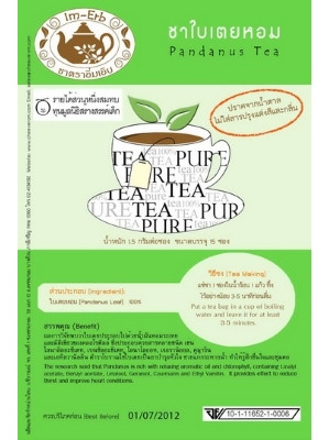 Pandanus Herbal Tea – 15 bags – IM-ERB