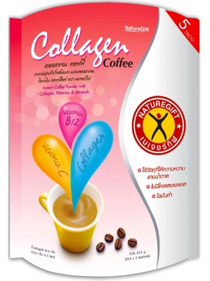 Collagen Coffee 5x13.5g – NATUREGIFT