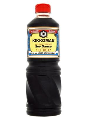 Soy Sauce 1ltr - KIKKOMAN