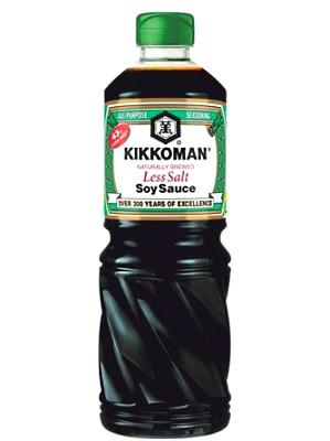 43% Less Salt Soy Sauce 1ltr - KIKKOMAN