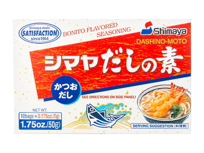 Bonito Flavoured Seasoning (Dashino-Moto) 10x5g - SHIMAYA