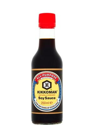 Soy Sauce 250ml - KIKKOMAN