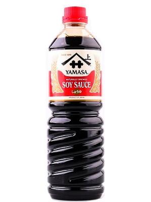 Japanese Soy Sauce 1ltr - YAMASA