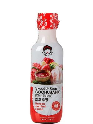 Korean Sweet & Sour Chilli Sashimi Sauce (Gochujang) - AJUMMA REPUBLIC