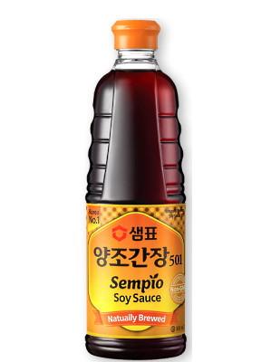 Korean '501' Soy Sauce 500ml - SEMPIO