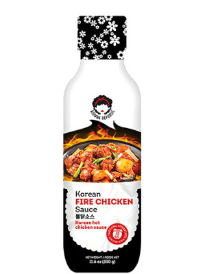 Korean Fire Chicken Hot Sauce - AJUMMA REPUBLIC