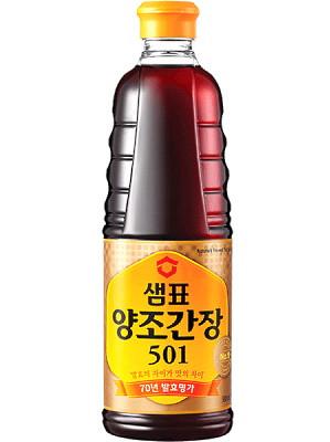 Korean '501' Soy Sauce 930ml - SEMPIO