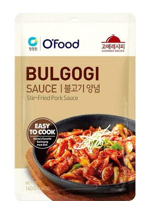 BULGOGI Stir-Fried Pork Sauce - O'FOOD ***CLEARANCE (Best Before: 10/06/20)***