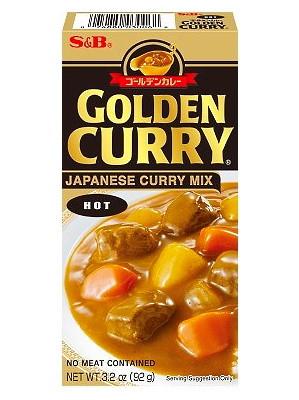 Golden Curry (Hot) 92g - S&B