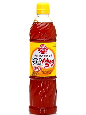Korean Rice Syrup 1200g - OTTOGI