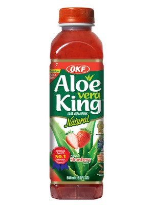 Aloe Vera Drink - Strawberry Flavour - OKF