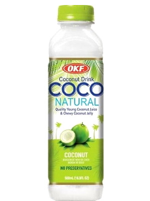 COCO Coconut Drink with Coconut Jelly - OKF